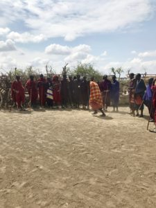 Maasai dancing