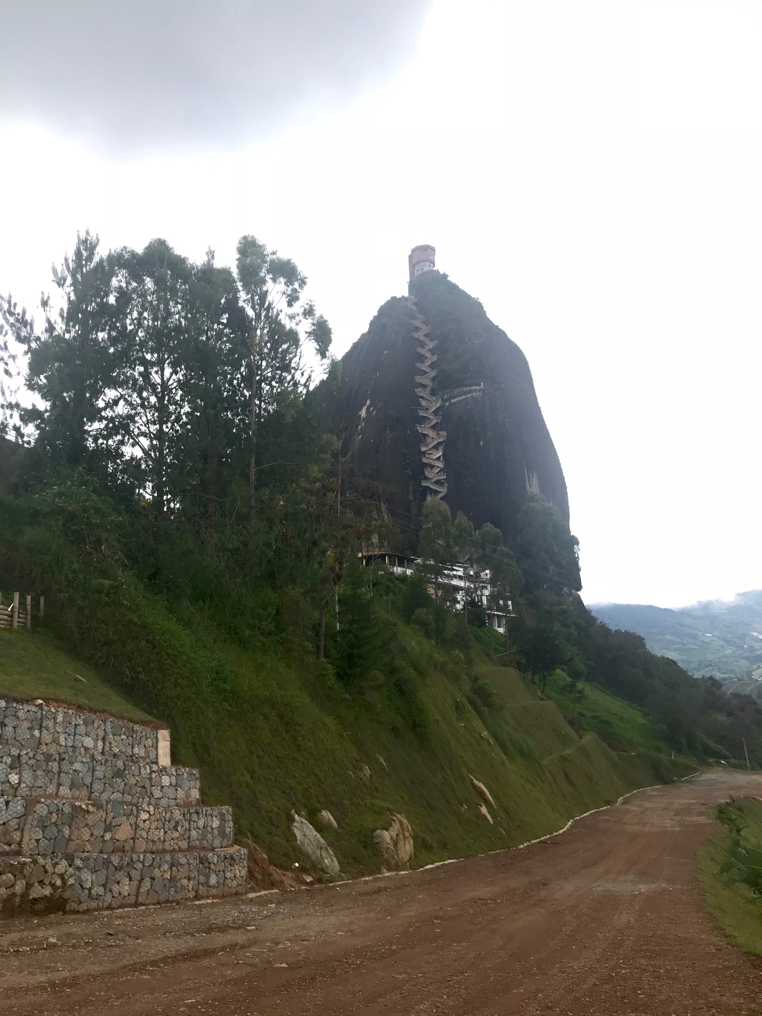 View of La Piedra
