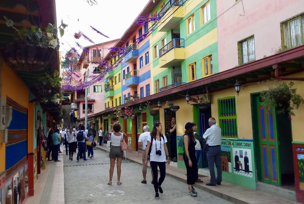 Guatape town centre