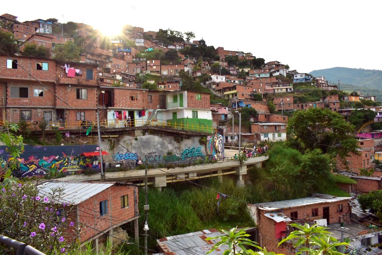 Comuna 13 golden hour