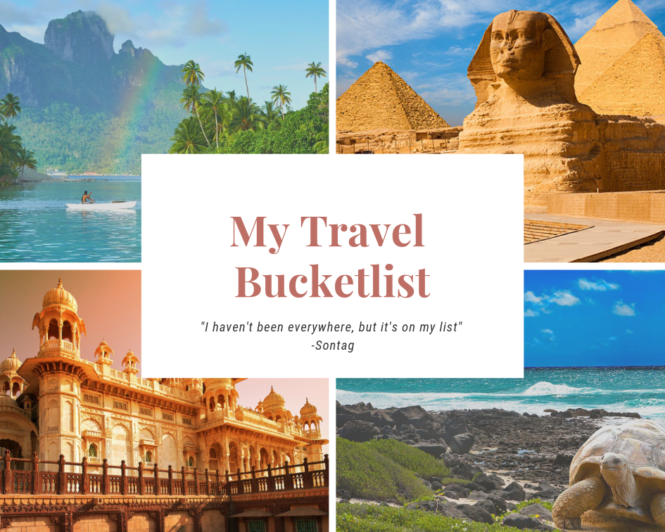 Bucketlist Collage